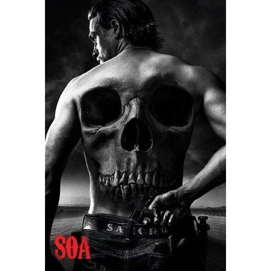 Maxi Poster Sons Of Anarchy (Skull)