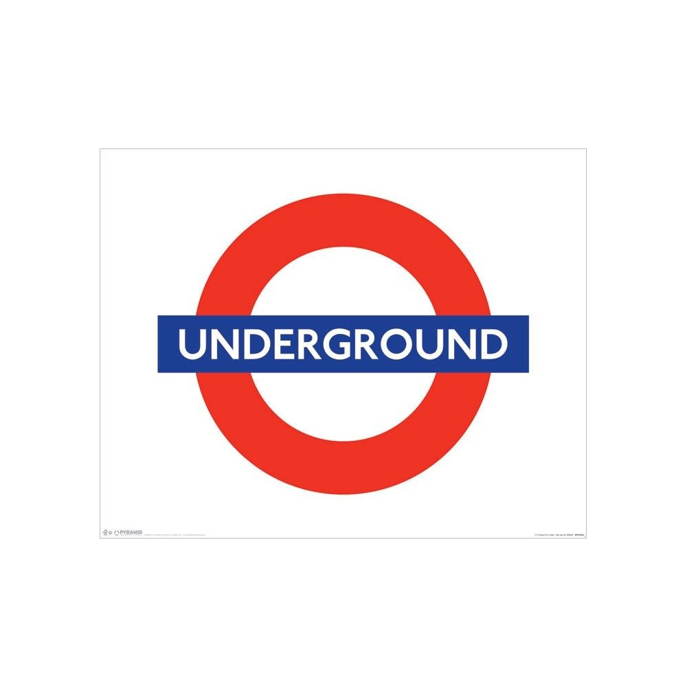 London Underground Logo Mini poster london underground: galleryhip.com/london-underground-logo.html
