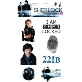 Pegatina Pack- Sherlock Mix