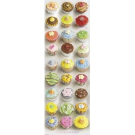 Poster Puerta Cupcakes- Howard Shooter