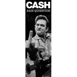 Poster Puerta Johnny Cash - San Quentin (Finger)