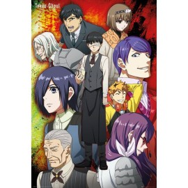 MAXI POSTER TOKYO GHOUL GROUP