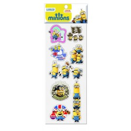 STICKERS RELIEVE MINIONS