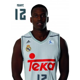 Postal Real Madrid Baloncesto 2015/2016 Ndiaye