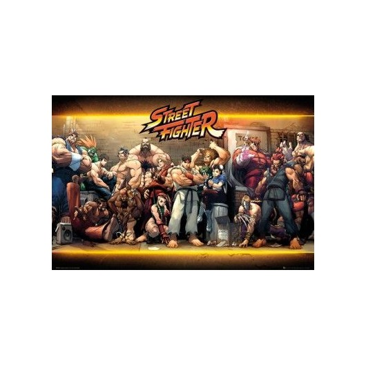 Maxi Poster Street Fighter Characters