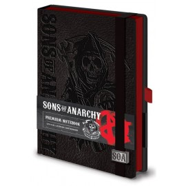 Cuaderno Premium Tapa Forrada A5 Sons Of Anarchy