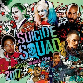Wall Calendar 2017 DC Comic Suicide Squad Worst Heroes Ever