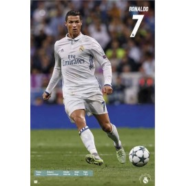 Poster Real Madrid 2016/2017 Ronaldo Accion