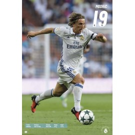 Poster Real Madrid 2016/2017 Modric Accion