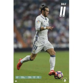 Poster Real Madrid 2016/2017 Bale Accion