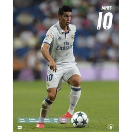 Mini Poster Real Madrid 16/17 James Acción