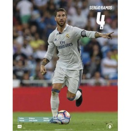 Mini Poster Real Madrid 16/17 Sergio Ramos Acción