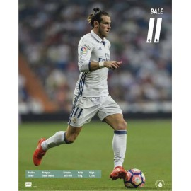 Mini Poster Real Madrid 16/17 Bale Acción