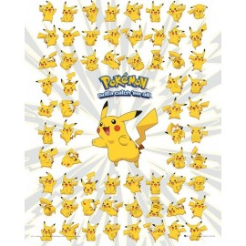 Mini Poster Pokemon Pikachu