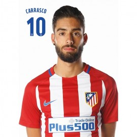 Postal Atletico Madrid 2016/2017 Carrasco