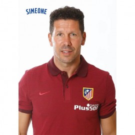 Postal Atletico Madrid 2016/2017 Simeone