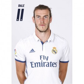 Postal Real Madrid 2016/2017 Bale Busto