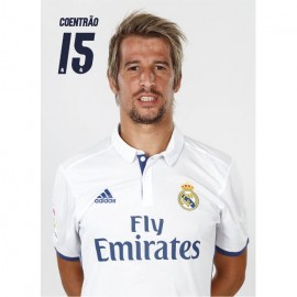Postal Real Madrid 2016/2017 F. Coentrao Busto