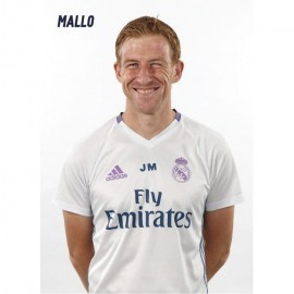 Postal Real Madrid 2016/2017 Javier Mallo