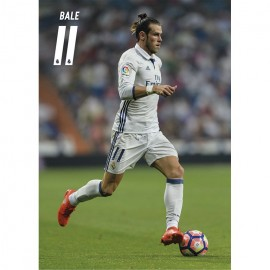 Postal Real Madrid A4 2016/2017 Bale Accion