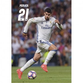 Postal Real Madrid 2016/2017 Morata Accion