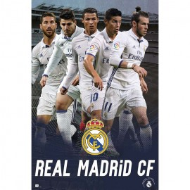 Poster Real Madrid 2016/2017 Grupo Accion