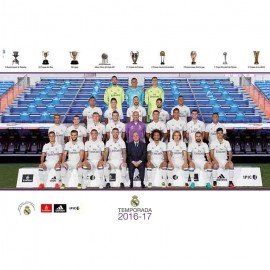 Poster Real Madrid 2016/2017 Plantilla