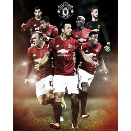Mini Poster Manchester United Player 2016-2017