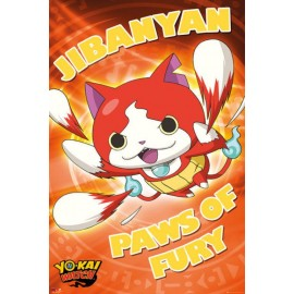 Poster Yo-Kai Watch Paws Of Fury