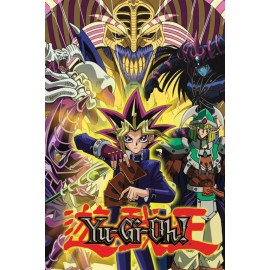 Poster Yu Gi Oh! Yugi And Monsters