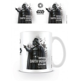 Taza Star Wars Rogue One Darth Vader Profile
