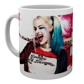 Taza Suicide Squad Harley Wink