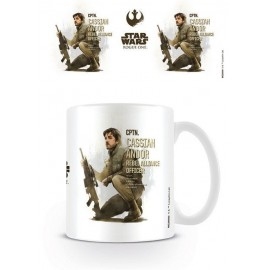 Taza Star Wars Rogue One Cassian Profile