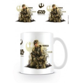 Taza Star Wars Rogue One Jyn Profile