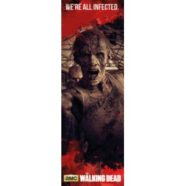 Poster Puerta The Walking Dead Zombies