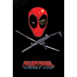 Poster Deadpool Eye Patch