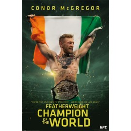 Poster Conor Mcgregor Featherweihgt Champion