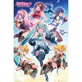Poster Hatsune Miku Group