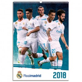 Calendario 2018 A3 Real Madrid