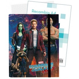 Carpeblock 4 Anillas Premium Marvel Guardians Of The Galaxy