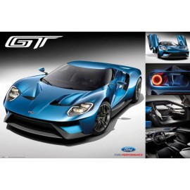 Poster Ford Gt 2016