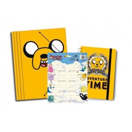 Pack Papeleria Adventure Time