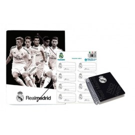 Pack Papeleria Real Madrid