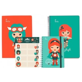 Pack Papeleria Lil Ledy