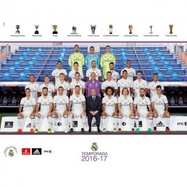 Mini Poster Real Madrid 2016/2017 Plantilla Mundialito