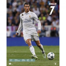 Mini Poster Real Madrid 2016/2017 Ronaldo Accion Mundialito