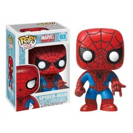 Spider Man Red And Blue Costume Classic Pop