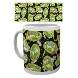 Taza Rick And Morty Portals