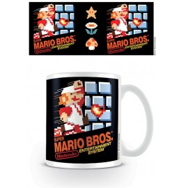 Taza Mug Super Mario Bros. Nes Cover