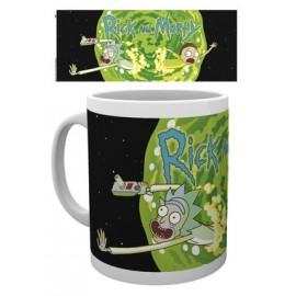 Taza Rick And Morty Logo